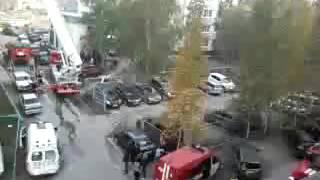 пожар на Дзержинского 19а