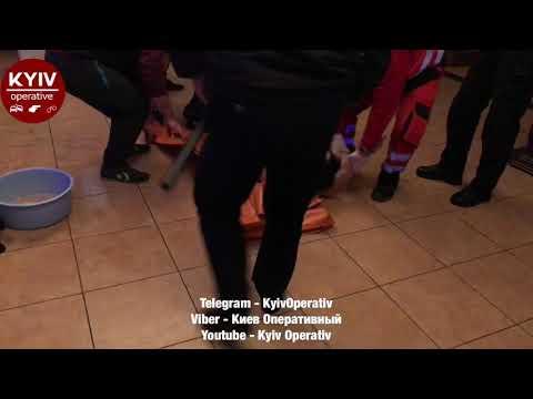 В Киеве ночью произошла массовая драка с поножовщиной (ВИДЕО 18+)