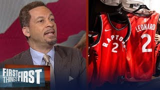 Broussard and Gottlieb on Kawhi Leonard's chance to dominate the East | NBA | FIRST THINGS FIRST