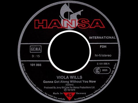 Viola Wills ~ Gonna Get Along Without You Now 1980 Disco Purrfection Versionn