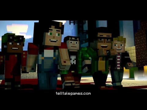 Minecraft Story Mode - Season Two - OFFICIAL TRAILER thumbnail