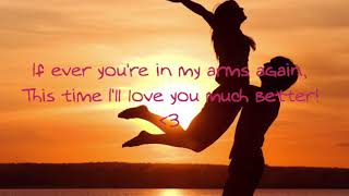 Peabo Bryson   If Ever You're In My Arms Again | Lyrics