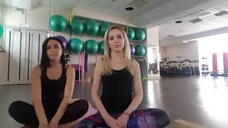 Йога для начинающих с Валей Головиной (сюжет 2)