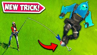 HOW TO *RIDE* A FISHING ROD - Fortnite Funny Fails and WTF Moments! #713