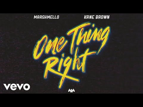 Marshmello  Kane Brown One Thing Right