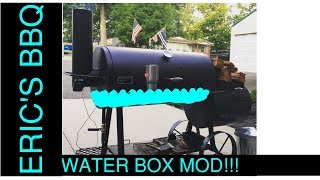 Smoking Brisket & Butts On Modified Old Country Pecos Smoker With A Water Box
