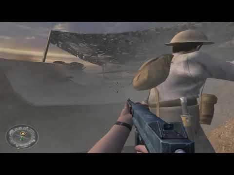 Call of Duty 2  // Операция Сверхбросок  // Египет