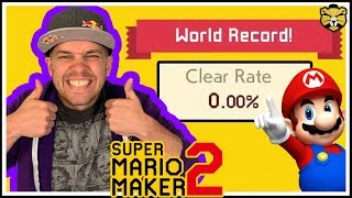 Super Mario Maker 2: Barb's Hottest Level And A 0.00% Clear Rate Level!? WOW!
