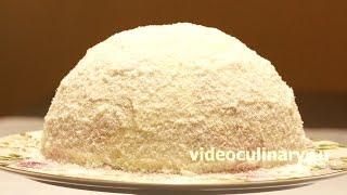 Смотреть онлайн Готовим нежный торт Рафаэлло, пошаговый рецепт
