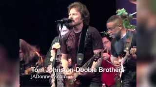 Carlos Santana, Tom Johnston-Doobie Bros., Sammy Hagar, Clarence Clemons-Bruce Springsteen Band, Jef