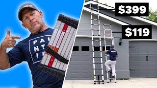 Telescoping Ladder FACE OFF! Theyre Basically The Same... Right?