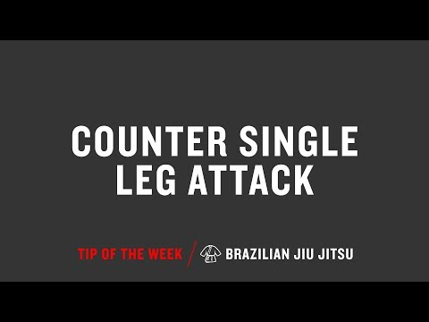 Counter Single Leg Attack