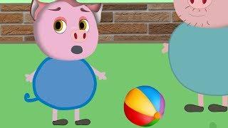 Мультфильмы для малышей. Смешные видео для детей - Свинка Алиса и ее друзья