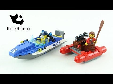Vidéo LEGO City 60176 : L'arrestation en hors-bord