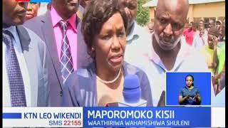 MAPOROMOKO KISII: Waathiriwa wahamishwa shuleni baada ya ardhi kuporomoka Nyabworoba