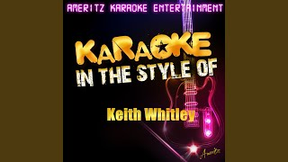 Would These Arms Be in Your Way (Karaoke Version)