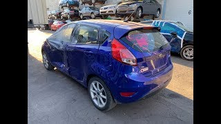 Авто из США. 2015 Ford Fiesta 2778$.