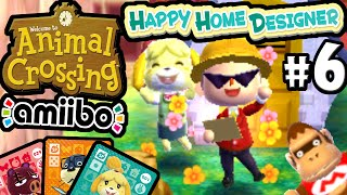 Isabelle  - (Animal Crossing) - Animal Crossing Happy Home Designer PART 6 Gameplay Walkthrough (Mario DLC Isabelle Amiibo Card) 3DS