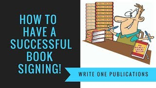 How To Have A Successful Book Signing Event