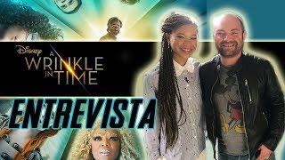 Entrevista - A Wrinkle in Time (Un Viaje en el Tiempo)