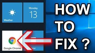 Fix Google Chrome Icon Background In Windows Start Menu