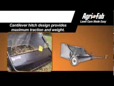 "42"" Tow Lawn Sweeper video thumbnail"