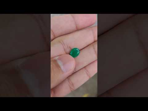 Natural Green Emerald 2.58 Carat Certified