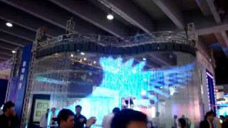 preview picture of video 'LED TRANSPARENT DISPLAY'