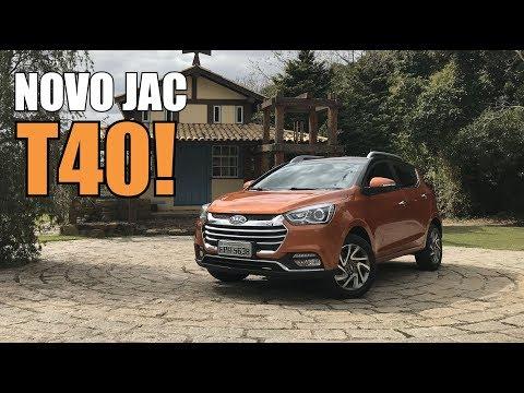 Novo JAC T40 2018 1.5 Manual em Detalhes - Falando de Carro