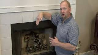 How Do You Open a Fireplace Damper?