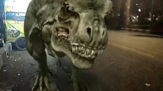 Jurassic Park : Tyrex aja beli Martabak