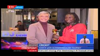 CheckPoint: Kenya cricket team feted to a feast by Sports CS and Cricket Kenya, September 25th 2016