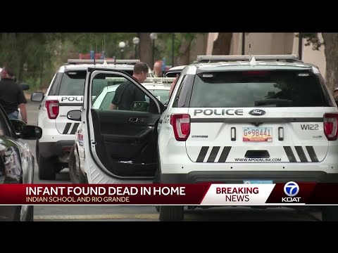 Infant found dead in home