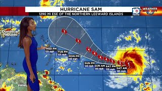 Hurricane Sam is a storm we'll need to watch for a while