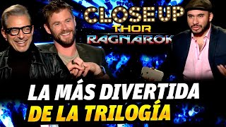 Thor Ragnarok, entrevista con Chris Hemsworth y Jeff Goldblum (Close up)