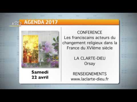 Agenda du 3 avril 2017