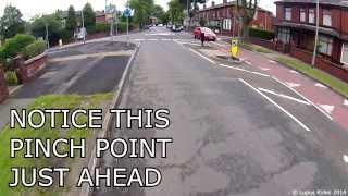 MJ57 OJE - Overtaking On A Roundabout - Lupus Rides