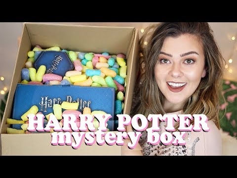 OPENING A HARRY POTTER MYSTERY BOX - No Seriously Why Did I Buy This | Lucy Wood