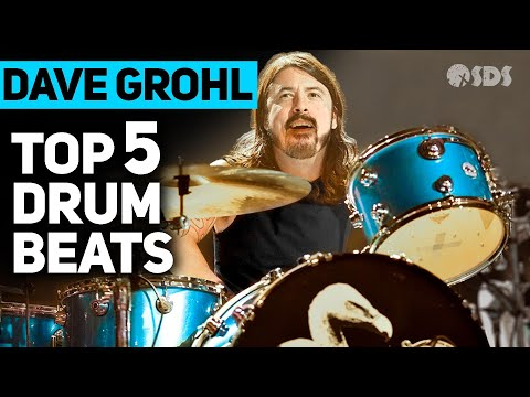 5 Dave Grohl Drum Beats Every Drummer Should Know