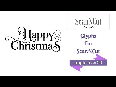 , title : 'Using Special Characters (Glyphs) with Mac Font Book and ScanNCut'