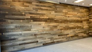 THE GREATEST BARNWOOD WALL OF ALL TIME! MEGA MANCAVE