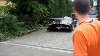 Pagani Zonda R - first time on street