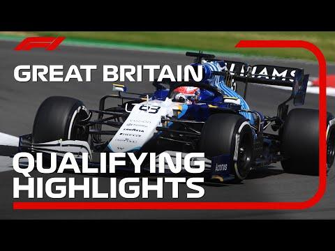 F1第10戦イギリスGP(シルバーストン)の予選タイムアタックのハイライト動画