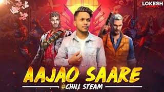 Free Fire Live Chill Stream With LOKESH GAMER