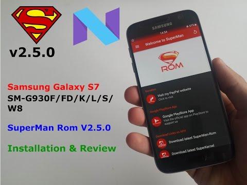 S7/Edge - SuperStock Rom V9 Rom - смотреть онлайн на Hah Life