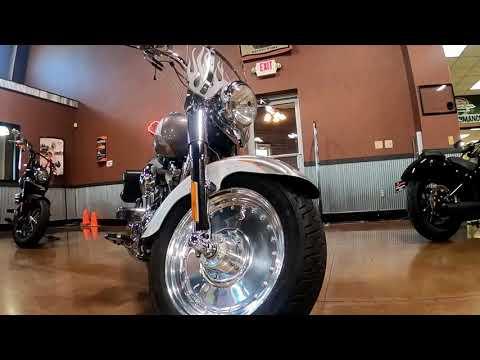 2005 Harley-Davidson FLSTFSE Screamin' Eagle® Fat Boy® in Mauston, Wisconsin - Video 1