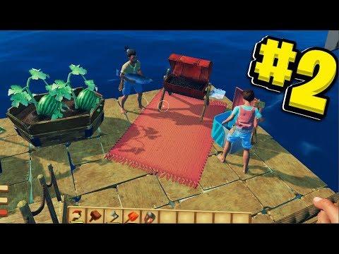 Shark Survival Simulator - Big Ocean Survival Adventure - Raft Survival w/ JeromeASF #2