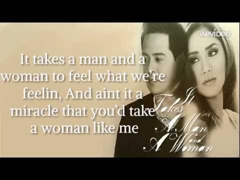 It Takes A Man And A Woman (Lyrics Video) - Sarah Geronimo