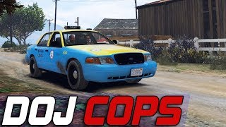 Dept. of Justice Cops #660 - Cash Cab Round 2