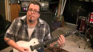 Dio -  Shivers - Guitar Lesson by Mike Gross